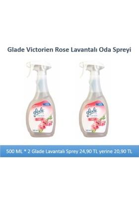 Glade Multı Sprey 500Ml Victorien Rose - 2Li Paket