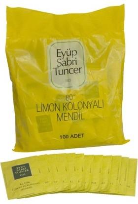 Eyüp Sabri Tuncer Limon Kolonyali 100`Lu Mendil