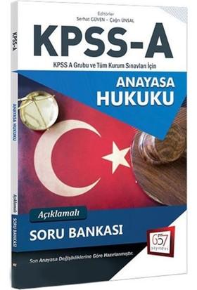657 Yayınları 2018 Kpss A Grubu Anayasa Hukuku Açıklamalı Soru Bankası