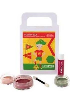 Luna Star Çocuk Yüz Boyaları Doğal Mineral Makyaj Set Soccer Star