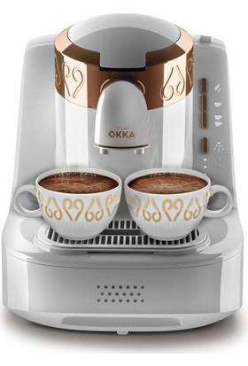 Arzum Okka Türk Kahve Makinası - Beyaz