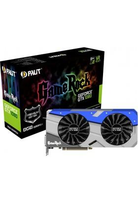 Palit GeForce GTX1080 GameRock Premium Edition 8GB 256Bit GDDR5 Ekran Kartı (NEB1080H15P2 1040G)
