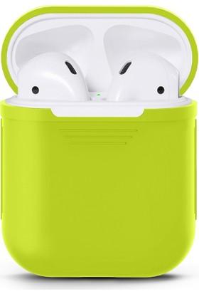 Case 4U Apple Airpods Silikon Kılıf Yeşil*