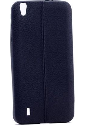 Case 4U Vestel Venüs 5530 Desenli Silikon Kılıf Siyah