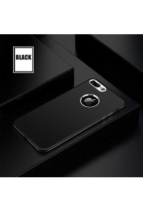 Case 4U Apple iPhone 6 - 6S Silikon Kılıf Luxury Siyah