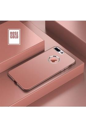 Case 4U Apple iPhone 6 - 6S Silikon Kılıf Luxury Rose Gold