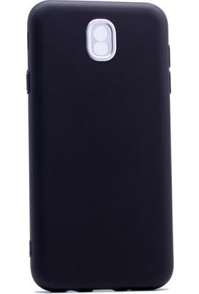Case 4U Samsung Galaxy J730 Silikon Kılıf Luxury Siyah