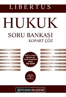 Kpss A Grubu Libertus Hukuk Çek Kopart Soru Bankası