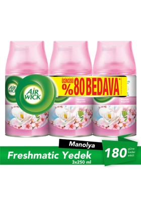 Air Wick® Life Scents® Freshmatic® 3 Al 2 Öde - Manolya
