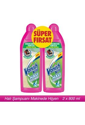 Vanish Kosla Halı Şampuanı Makine Yıkama Hijyen 2'li Paket / 2 x 800ml
