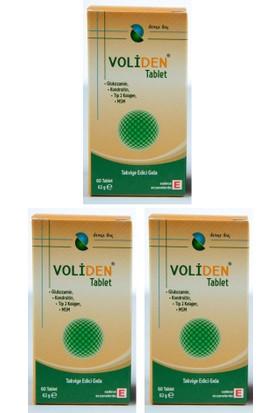 Voliden Glukozamin 60 Tablet 3lü Avantajlı Paket