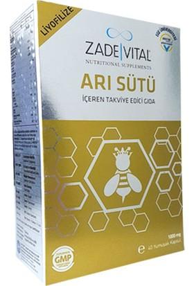 Zade Vital Arı Sütü İçeren Takviye Edici Gıda 40 Kapsül