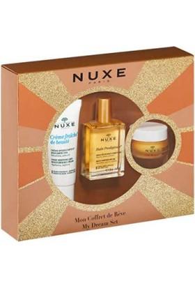 Nuxe My Dream Set Reve De Mıel Baume Levres - Huıle Prodıgeuse - Creme Fraıche De Beaute