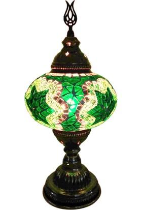 Otantik Osmanlı Dekoratif Mozaik Masa Lambası (No:3)