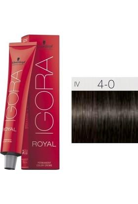 İgora Royal 4.0 Orta Ton Kahverengi