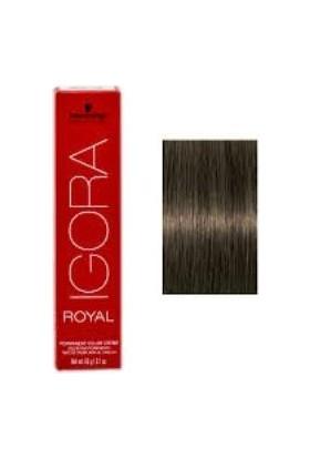 İgora Royal 6.63 Koyu Kumral Mat Çikolata