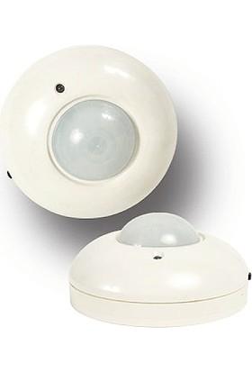 Duvar Tavan Tipi 360° Hareket Sensörü (Beyaz)