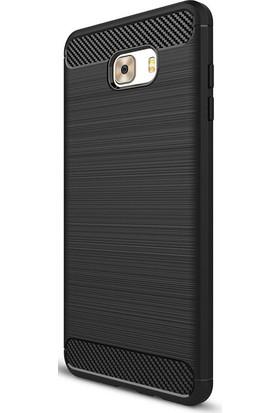 Gpack Samsung Galaxy C9 Pro Kılıf Room Tarz Silikon Case + Kalem + Cam
