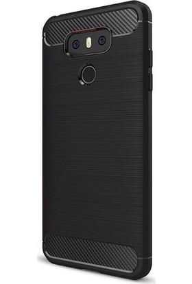 Gpack LG G6 Kılıf Room Tarz Silikon Case + Cam
