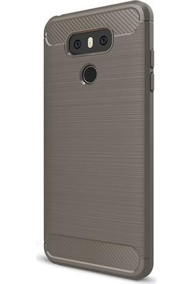 Gpack LG G6 Kılıf Room Tarz Silikon Case + Kalem + Cam