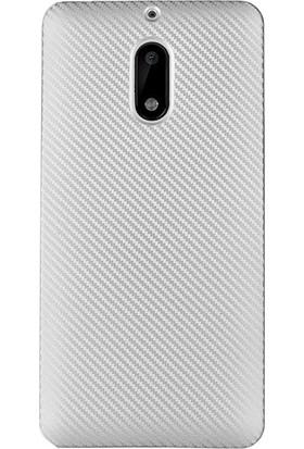 Gpack Nokia 5 Kılıf Carbon İzore Silikon Case + Cam