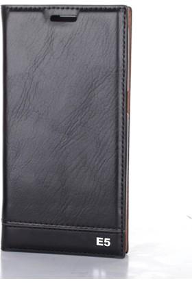 Gpack Sony Xperia E5 Kılıf Gizli Mıknatıslı Düz Milano