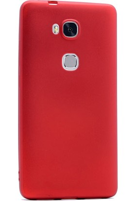 Gpack Huawei Gr5 Kılıf Premier Silikon Arka Kapak + Cam