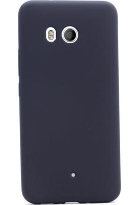 Gpack Huawei U11 Kılıf Premier Silikon Arka Kapak + Cam