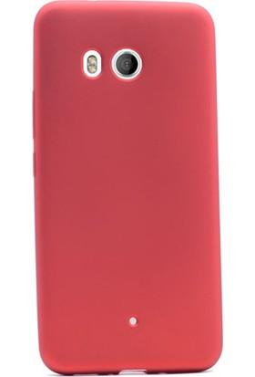 Gpack Huawei U11 Kılıf Premier Silikon Arka Kapak + Kalem + Cam
