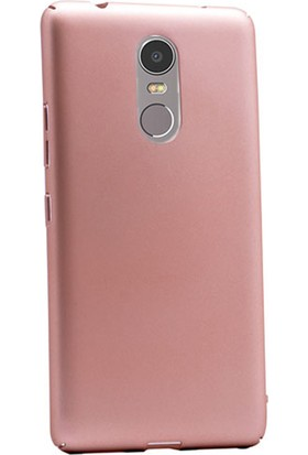Gpack Lenovo K6 Note Kılıf Full Kavrayan Sert Rubber Case + Kalem + Cam