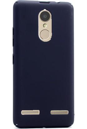 Gpack Lenovo K6 Kılıf Full Kavrayan Sert Rubber Case + Cam