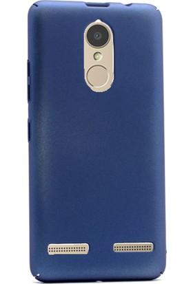 Gpack Lenovo K6 Kılıf Full Kavrayan Sert Rubber Case + Kalem + Cam
