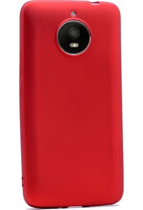 Gpack Motorola E4 Plus Kılıf Premier Silikon Arka Kapak + Cam