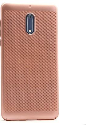Gpack Nokia 5 Kılıf Delikli Rubber Felix Arka Kapak + Kalem + Cam