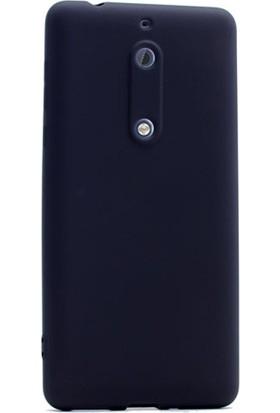Gpack Nokia 5 Kılıf Premier Silikon Yumuşak Doku Arka Kapak