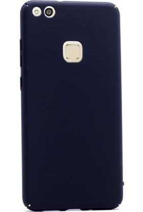 Gpack Huawei P10 Lite Kılıf Full Kavrayan Sert Rubber Case + Cam