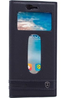 Gpack Turkcell T80 Kılıf Gizli Mıknatıslı Kapaklı Elite Case + Kalem + Cam