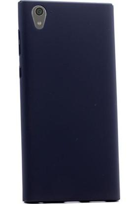 Gpack Sony Xperia L1 Kılıf Full Kavrayan Sert Rubber Case + Cam