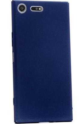 Gpack Sony Xperia Xz Premium Kılıf Full Kavrayan Sert Rubber Case + Cam