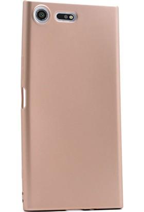 Gpack Sony Xperia Xz Premium Kılıf Premier Silikon Yumuşak Doku Case + Cam