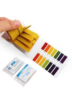 Furkan Store Ph Metre Meter Test Ölçme Kağıdı 80 Li 1-14 Ph Ölçer - 80 Adet Turnusol Kağıdı