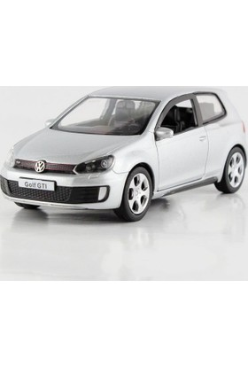 Welly Volkswagen Golf GTI Metal Araba Lisanslı 1:36 Ölçek