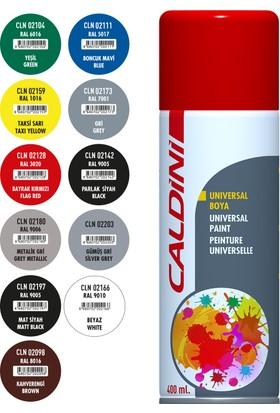 Caldini Universal Akrilik Sprey Boya Mat Siyah 400 ml. CLN 02197