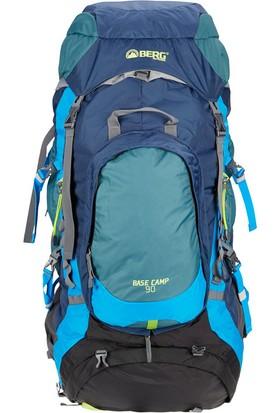 Berg Base Camp Trekking Sırt Çantası 90 Lt - Lacivert