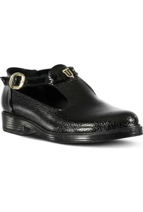 Marjin Zedan Düz Ayakkabı Siyah