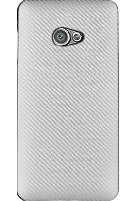 CoverZone General Mobile GM6 Kılıf Karbon Silikon