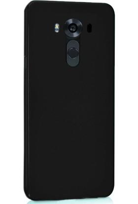 CoverZone Lg V10 Kılıf Slim Fit Silikon + Cam