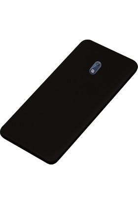 CoverZone Nokia 5 Kılıf Slim Fit Silikon + Cam