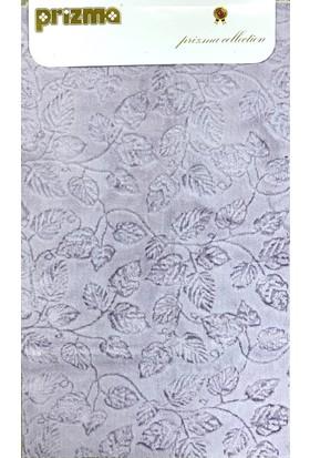 Prizma 2`li Banyo Paspas Takımı - Yaprak Lila