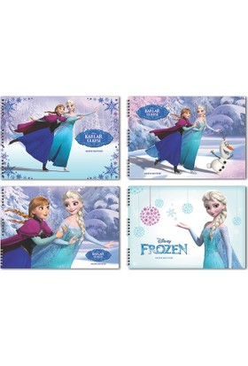 Frozen 25*35 15 Yaprak Resim Defteri